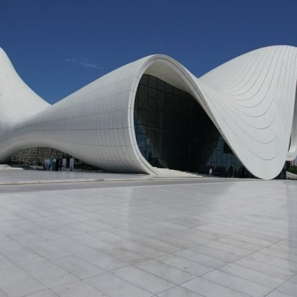 modern building in Azerbaijan