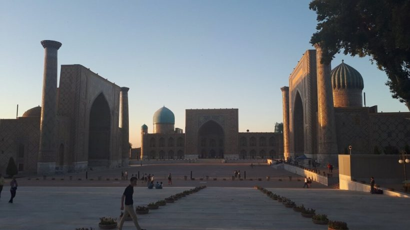 Evening Samarkand Registan