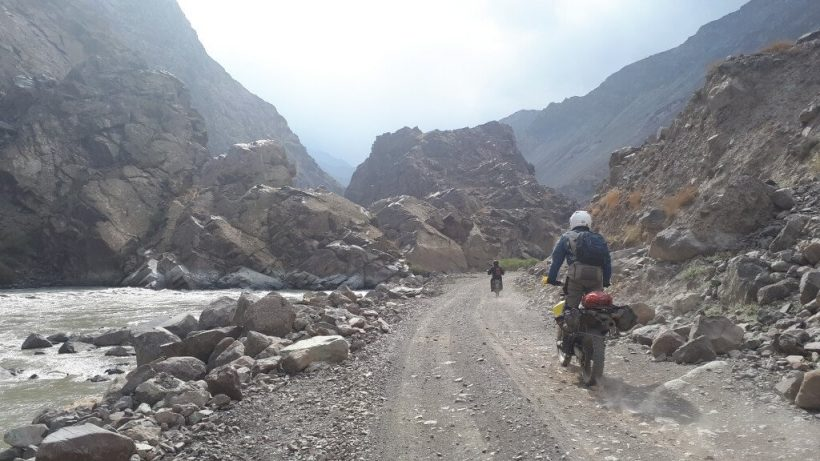 Bartang Valley River